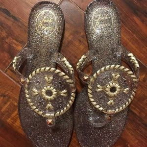 Jack Rogers Jelly Sandals Multicolor Size 8